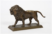 lion by antoine-louis barye