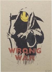 wrong war by banksy