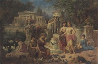 the feast of venus by emmanuel oberhauser