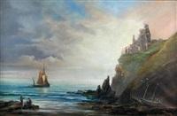 tantallen castle, early morning by richard short