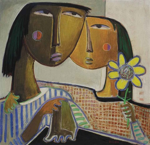 lovers by angel botello