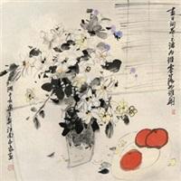 瓶花 by liu guohui