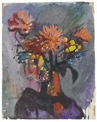 an autumnal bouquet by josef dobrowsky