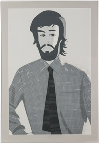 plaidshirt i by alex katz