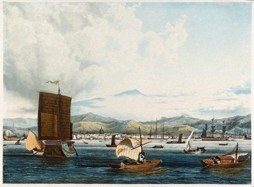 Vue De Port St Louis By Ambroise Louis Garneray On Artnet