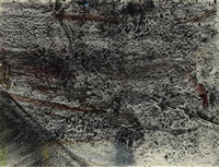 study ii, metal tool series by jack whitten