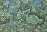 bebek dan bulus by i dewa ketut rungun