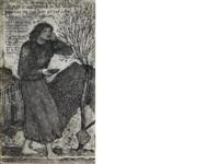 st. john the baptist by edward burne-jones