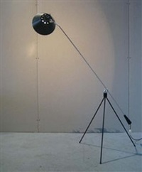 lampadaire (model magneto) by h. fillekes