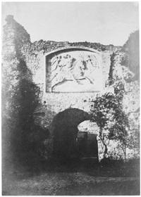 porte du château d'arques la bataille by henri-victor regnault
