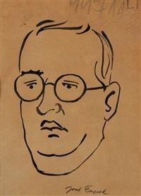 autoportrét by josef capek