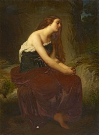saint mary magdalene by ludwig des coudres
