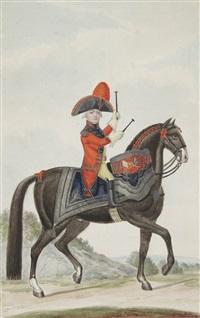 le jeune tambour à cheval by nicolaus hoffmann