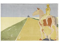 on the road to chartres by elisabeth frink
