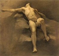 male nude by johannes linse