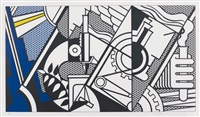 peace through chemistry iv by roy lichtenstein