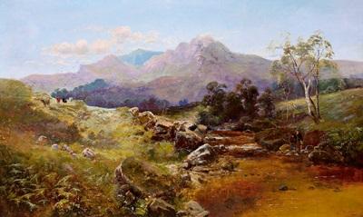 schottische landschaft by c austin