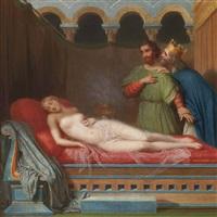 la femme du roi candaule by charles victoire frederic moench