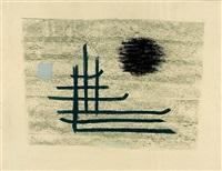 ohne titel (abstrakte komposition) by alexander camaro