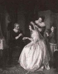 les preparatifs de la mariee by leopold loeffler