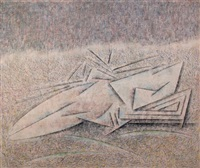 figura acostada by hugo de marziani