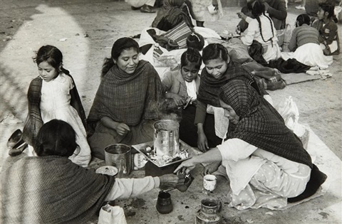 untitled women and girls mexico by henri cartier bresson