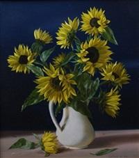 sunflowers by boris leifer