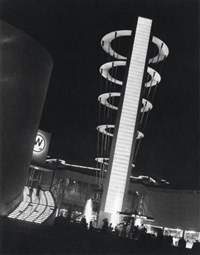 westinghouse display building, world's fair, new york by fred r. archer