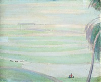 polish landscape by robert polhill bevan