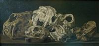 bataille de crâne by etienne albin