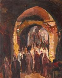 bazar în tunis by samuel mützner