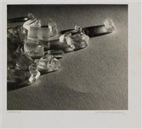 fixiernatron, edelsteine (2 works) by franz senkinc