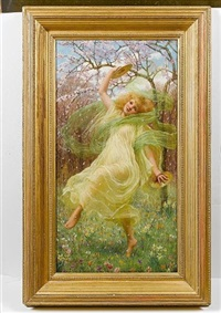 spring by w. savage cooper