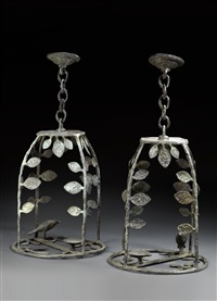 hanging lantern by diego giacometti