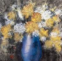 水彩花卉 by xu xi
