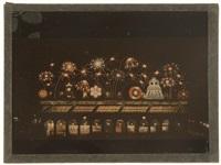 illuminations des magasins du louvre, exposition de jouets by léon gimpel