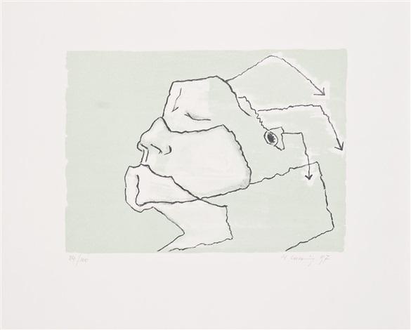 ohne titel by maria lassnig