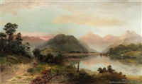 road to kingston, lake wakatipu by james peele