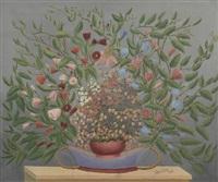 nature morte aux fleurs by andré bauchant
