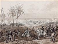 la prise de patras par le maréchal maison en 1828 (study) by hippolyte lecomte