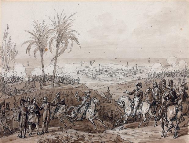 la prise de patras par le maréchal maison en 1828 study by hippolyte lecomte