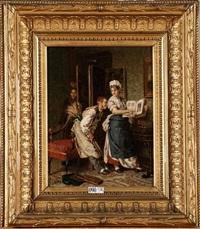le portrait de madame by evert jan boks