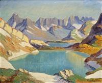 lacs en montagne, chaîne des fiz by julien bouvier