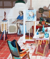 interior de taller by carlos alonso