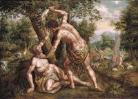 cain and abel (collab. w/hendrik de clerck) by denis van alsloot