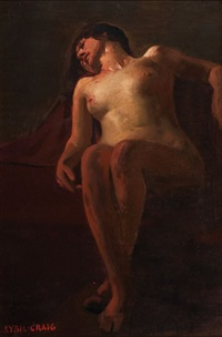 reclining nude by sybil craig