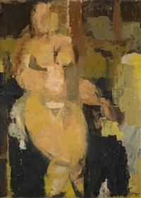 figura in un interno by giuseppe ajmone