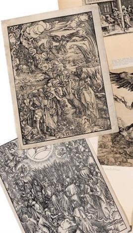 ladoration de lagneau le prostituée babylonienne 2 works by albrecht dürer