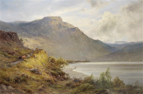 the foot of brander pass by alfred de breanski sr