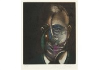 portrait de michel leiris by francis bacon